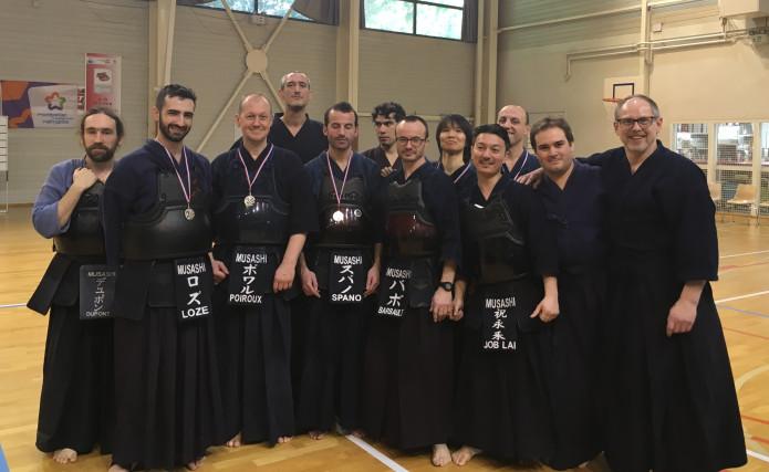 Inter-régions 2018 Kendo Musashi